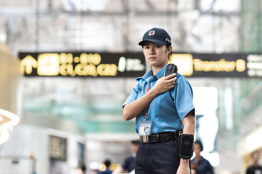 Body cameras will give Sats Security officers better visibility of airport activities during their patrol.