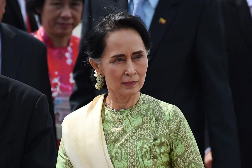 """Myanmar leader Aung San Suu Kyi seemed to be a """"changed person"""", Malaysian Prime Minister Mahathir Mohamad said."""