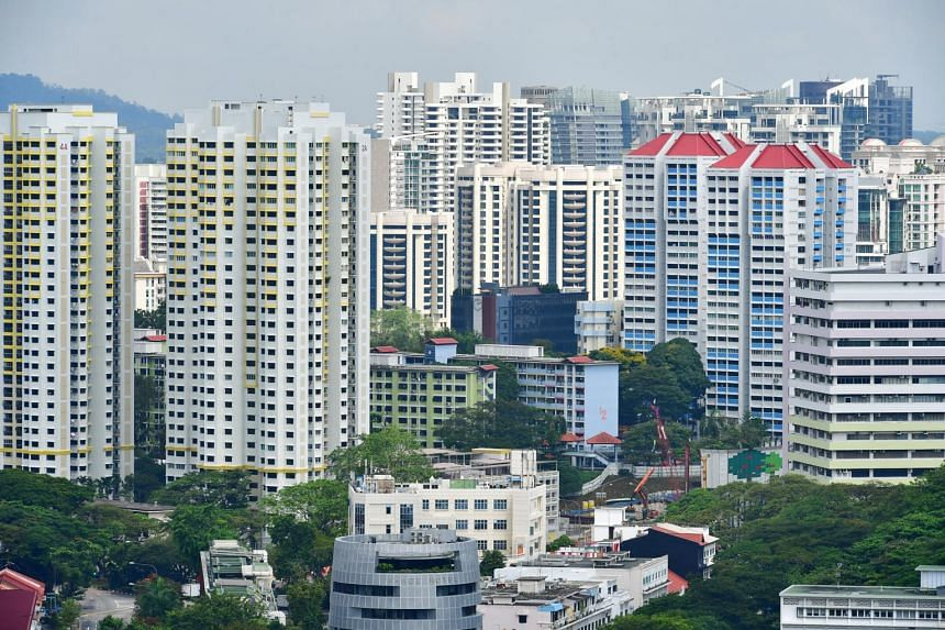 Prices of resale HDB flats are down 0.2 per cent from the second quarter, when it had inched up 0.1 per cent.