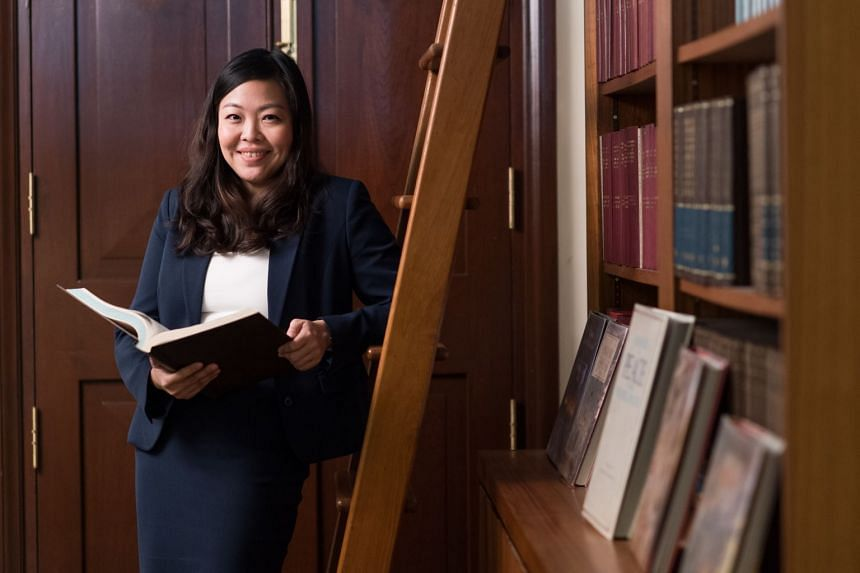 Ms Stephanie Or's position as a foreign service officer in the MFA has helped her impact lives both in Singapore and overseas. PHOTO: TED CHEN