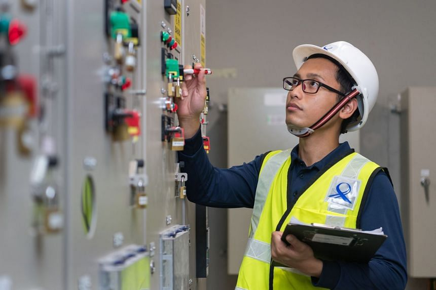 Mr Muhammad Jazli Jumain relishes the various challenges that come with his job as an executive project engineer with the LTA. PHOTO: TED CHEN