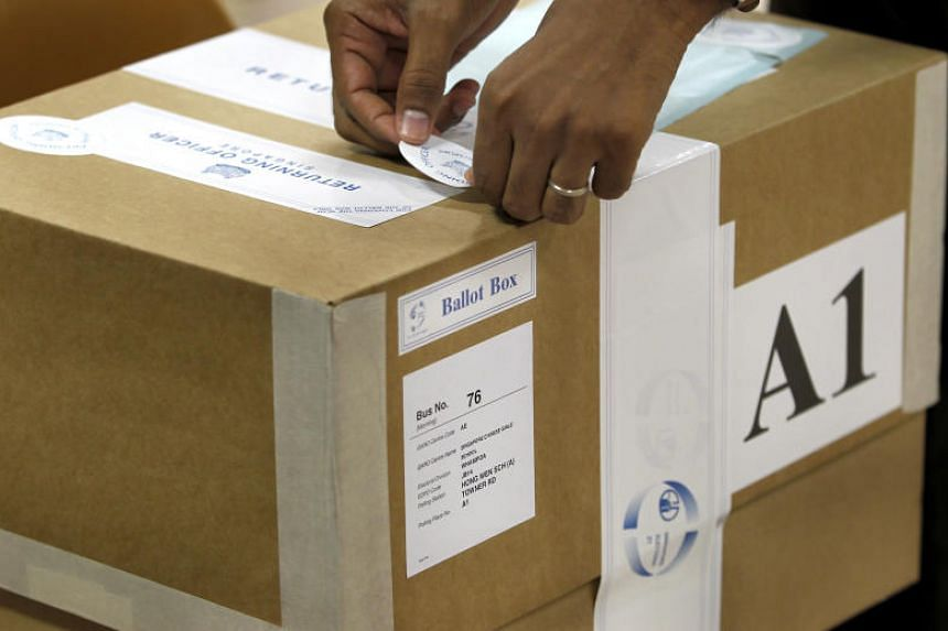 """While there have been no incidents in past elections of ballot boxes being lost or damaged before the votes could be counted, Trade and Industry Minister Chan Chun Sing said that the new law will """"ensure the integrity of the election process""""."""