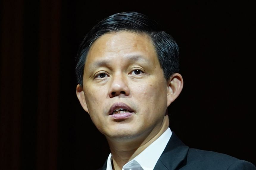 Trade and Industry Minister Chan Chun Sing said that while the Workers' Party was against the Non-Constituency MP (NCMP) scheme, its candidates were still taking up the NCMP seats.