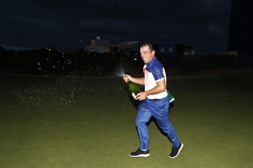 Francesco Molinari is the first European player to win all five of his matches at a Ryder Cup.