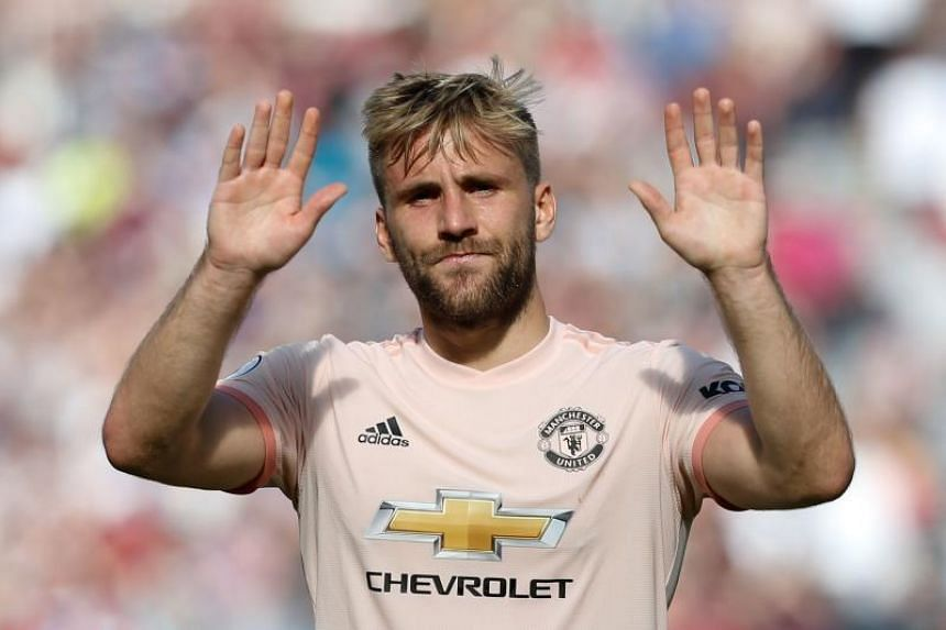 """Manchester United's Luke Shaw apologised to supporters for United's """"awful"""" performance and said the players need to take a hard look at themselves."""
