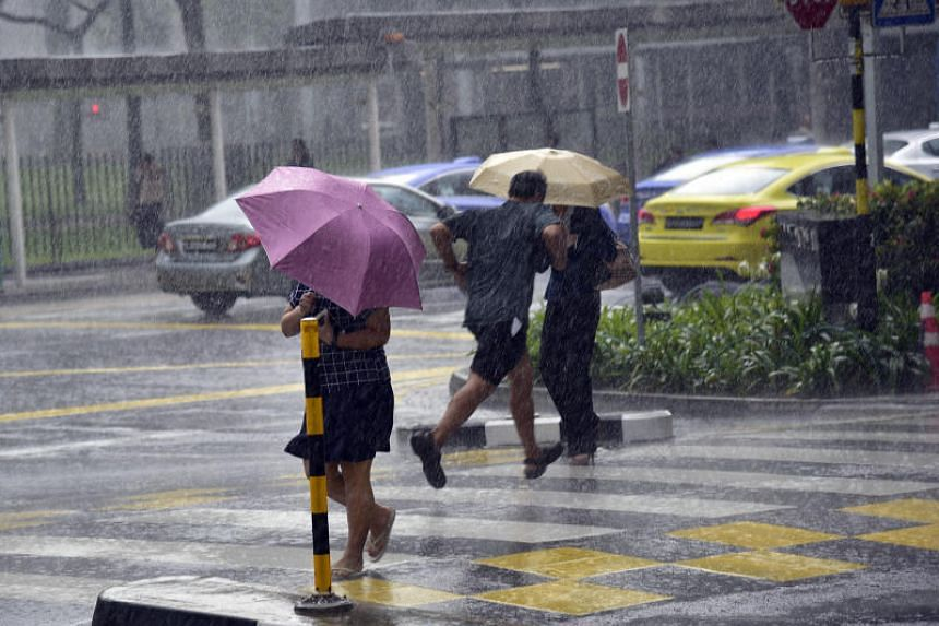Singaporeans can expect thundery showers mostly in the afternoon on six to eight days, especially on the second week of October.