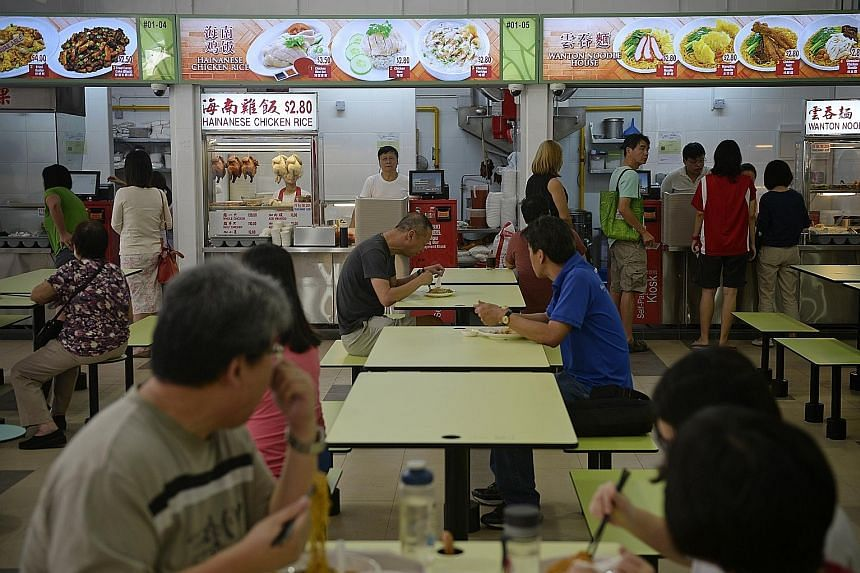Senior Minister of State for the Environment and Water Resources Amy Khor said management at the Ci Yuan Hawker Centre in Hougang has clarified that its $600 quality control management fee was optional. This is the same for its $50 coin exchange fee