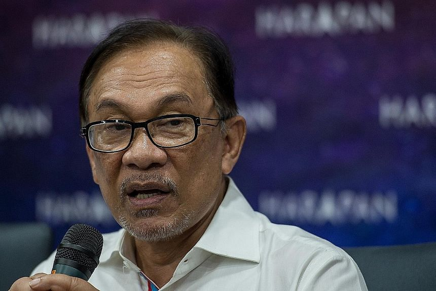 Mr Anwar Ibrahim is contesting in the Oct 13 by-election in the Negeri Sembilan beach town of Port Dickson, to pave the way for his return to Parliament.