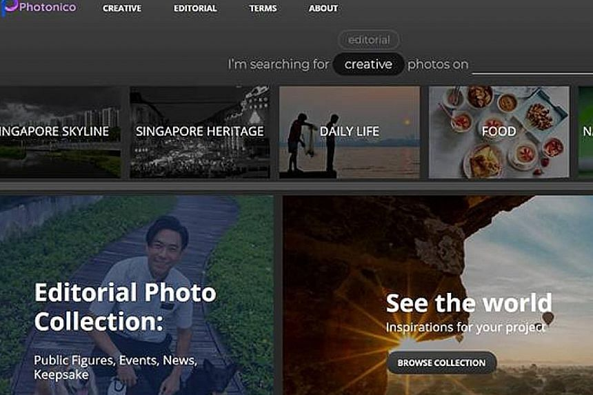 The Photonico site draws from SPH's archives dating back to 1948 and a network of local contributors. There are about 12,000 images available, and more will be added daily.