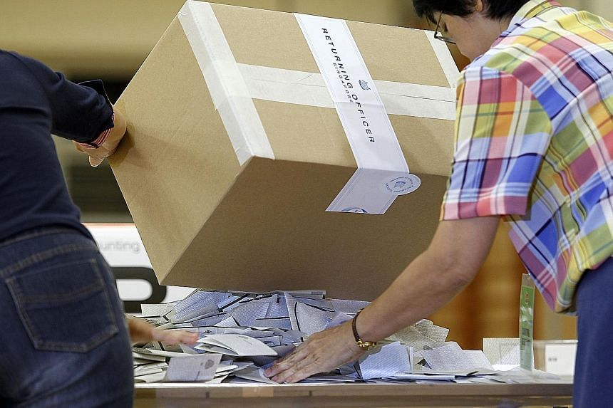 The new law lays out, among other things, what to do when ballot papers are lost or destroyed. It will ensure the integrity of the election process, said Trade and Industry Minister Chan Chun Sing.