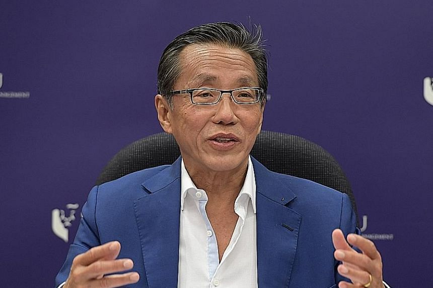 """Deputy Prime Minister Teo Chee Hean cited how Banyan Tree's Mr Ho Kwon Ping (above) had said in an interview that he was paid less than ministers, but Mr Ho's pay was in fact """"significantly higher than that of ministers and certainly not lower than m"""