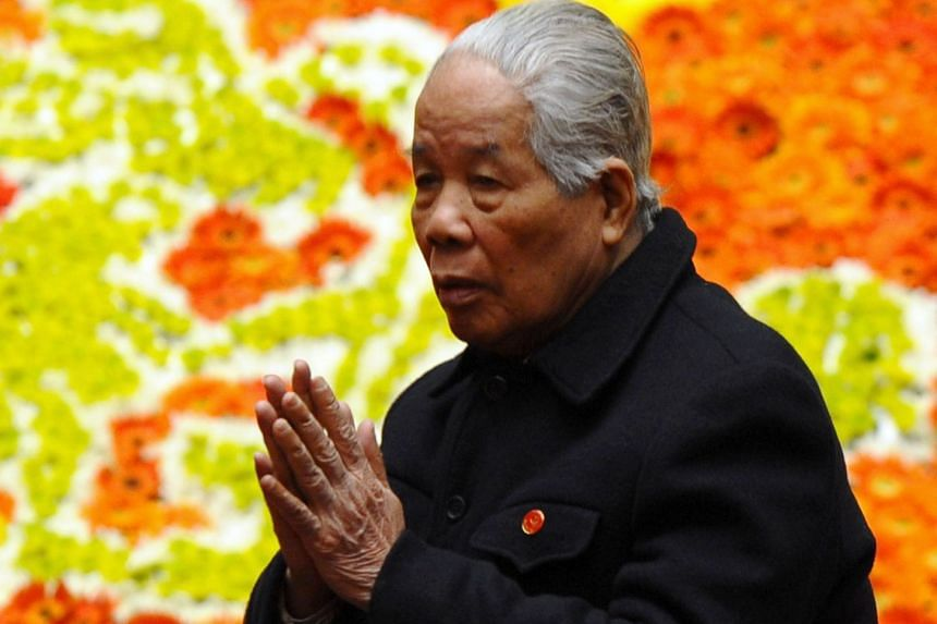 Mr Do Muoi died on Oct 1 at a military hospital in Hanoi following a long illness.
