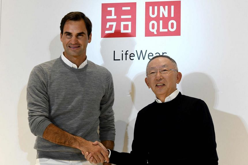 Media reports have said that Roger Federer's new deal with Uniqlo would be worth around US$30 million (S$41.3 million) a year, compared with the US$10 million a year agreement he had with Nike.