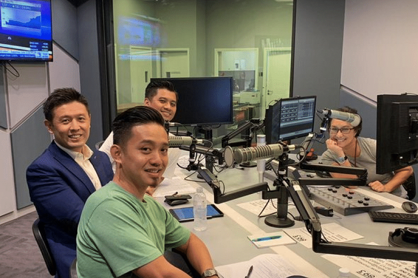 From left: NTUC Income chief marketing officer Marcus Chew and BBH Singapore creative directors Khairul Mondzi and Janson Choo are hosted by Money FM's Claressa Monteiro in this podcast.