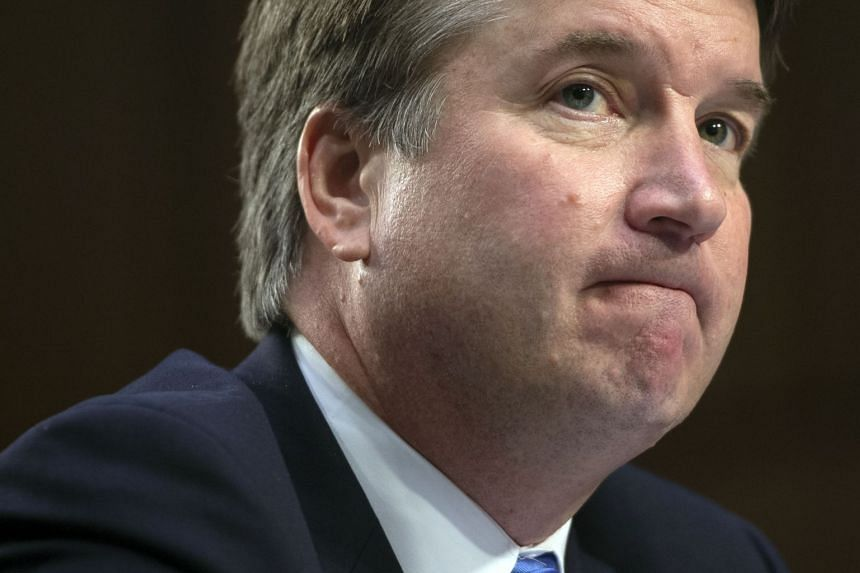 """President Donald Trump's Supreme Court Brett Kavanaugh has been described as """"belligerent and aggressive"""" when he drank."""
