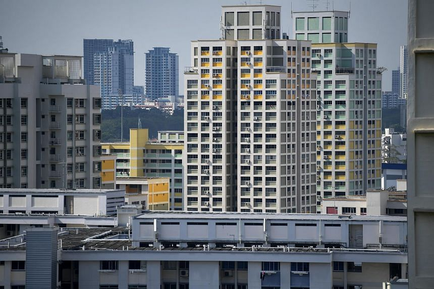 The amounts to be given out this month are tiered in increments of $10, depending on the HDB flat type.