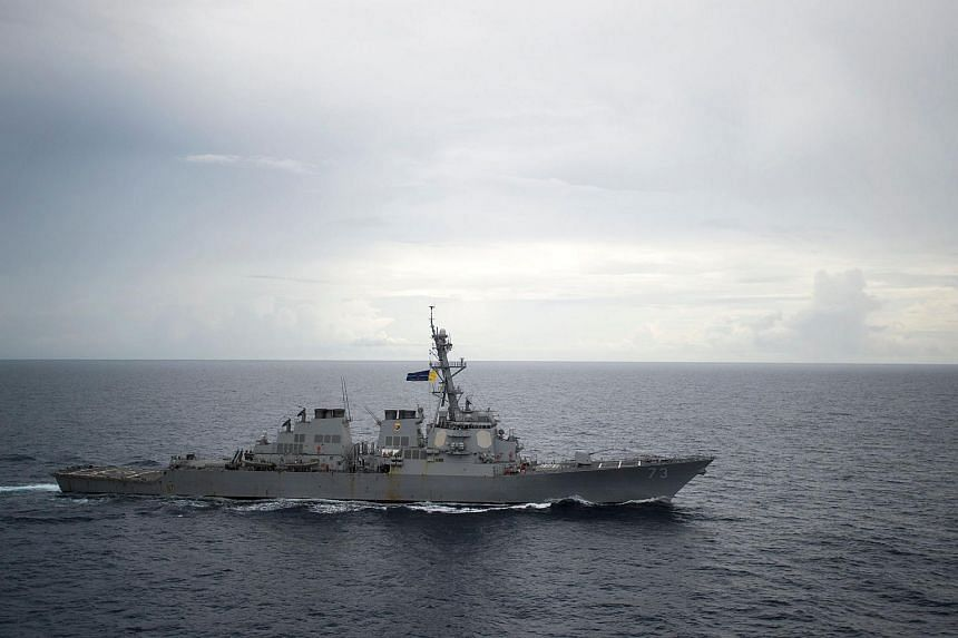 A US official said earlier that destroyer Decatur travelled within 12 nautical miles of Gaven and Johnson Reefs in the Spratly Islands.