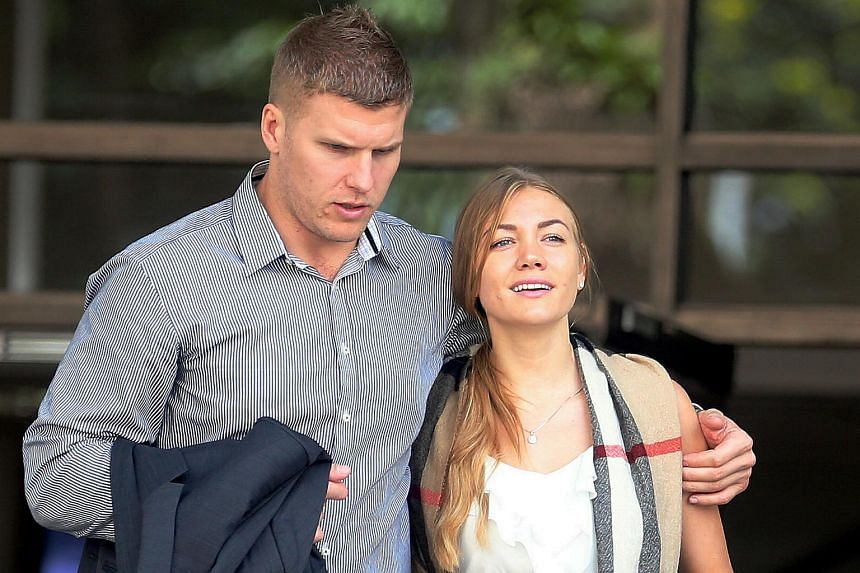 Russian Filimonova Svetlana and her husband, Australian Males Milan, could each be fined up to $2,000 and jailed for up to six months for causing public disturbance in a public place.