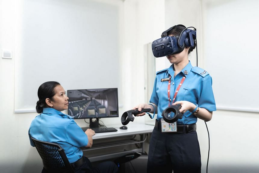 As part of Sats' digital push, virtual reality will be used to train officers in their responsiveness to various security situations.