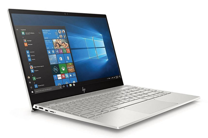 The HP Envy 13 has an all-metal chassis and comes with Bang & Olufsen-tuned quad speakers.