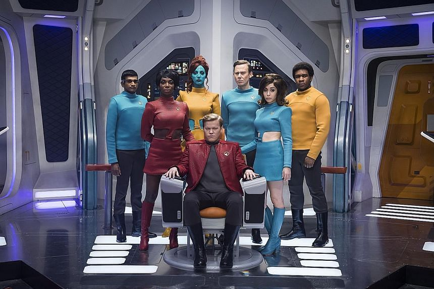 Netflix viewers will get to opt for their own storylines in one episode of the upcoming season of Black Mirror (left), the Emmy-winning, science-fiction anthology series.