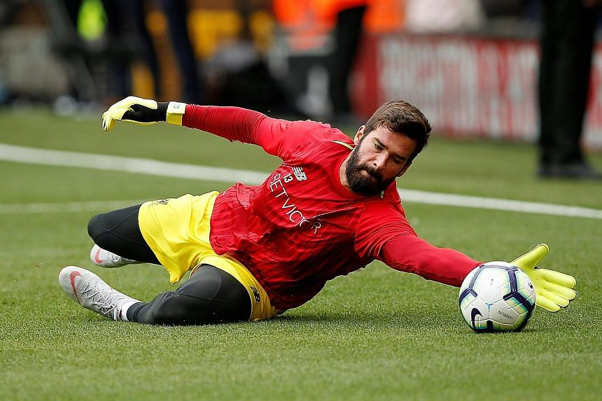 Liverpool custodian Alisson recalls the only occasion he played at the San Paolo Stadium, for former club Roma in the Serie A, as one of his hardest games. The Reds visit Naples in the Champions League today.