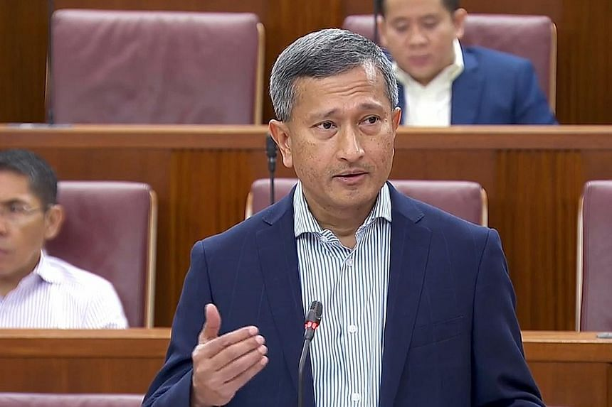 """""""To be brutally honest, this is a man-made humanitarian disaster and something which should not be happening in this day and age,"""" Foreign Minister Vivian Balakrishnan said of the Rohingya crisis."""
