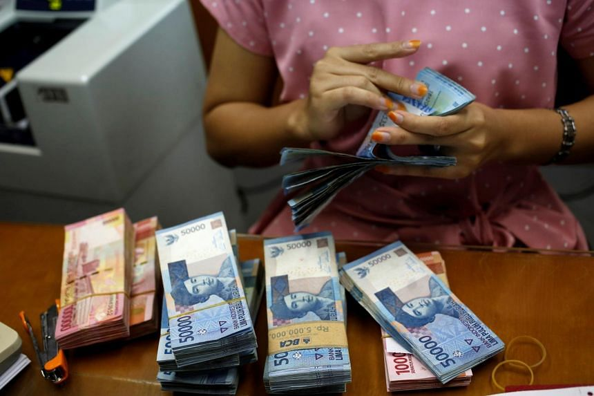 Indonesian Rupiah Falls To Record Low Amid Rising Pressures