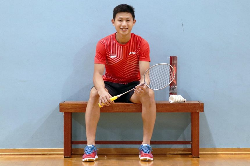 Joel Koh quit his Sports and Leisure Management course at Republic Polytechnic to focus on training full-time.