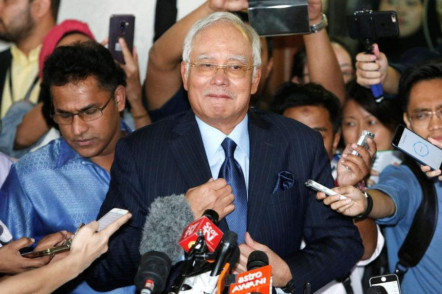 """Malaysia's former prime minister Najib Razak criticised Bernama news agency for being """"mischievous"""" in using a """"sensational tabloid-like headline"""" for a story."""