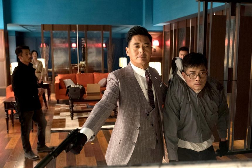 Chow Yun Fat and Aaron Kwok in Project Gutenberg.