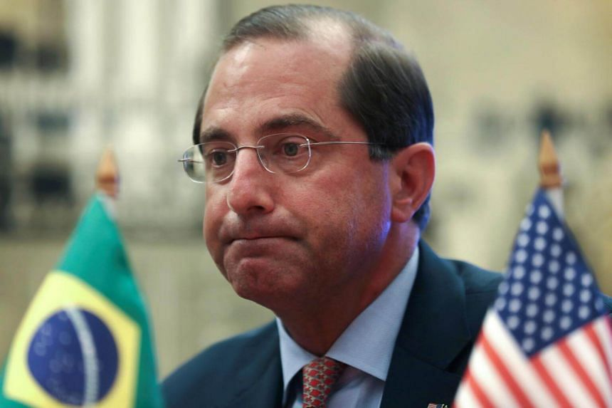 US Health and Human Services Secretary Alex Azar said it was important to effectively treat Venezuelan migrants before diseases like malaria spread through neighbouring countries.
