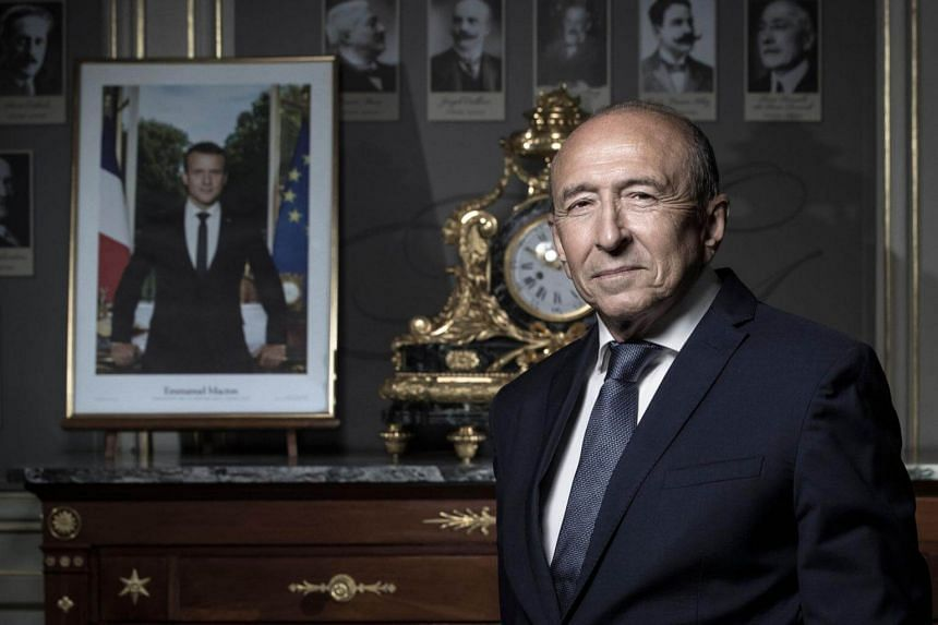 Gerard Collomb had previously announced that he planned to run for his old job as mayor of the city of Lyon.