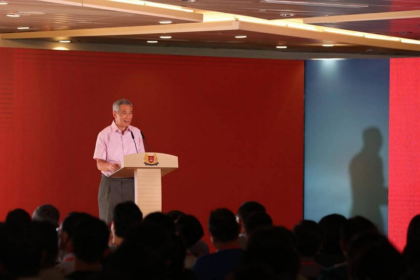Prime Minister Lee Hsien Loong said agencies cannot be totally dependent on external consultants.