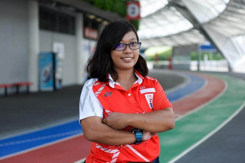 Para-archer Syahidah Alim is the only South-east Asian among the seven candidates.