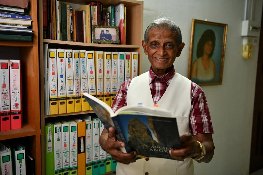 The Population Trends 2018 report revealed that there are more people living alone here. Widower K.P. Sivam, 82, has been living alone in a flat after his wife died about 12 years ago.