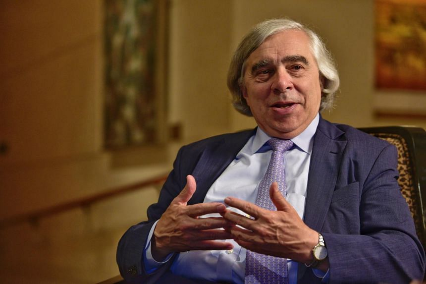 Former United States secretary of energy Ernest Moniz will be in Singapore, South Korea and Japan this week to discuss nuclear and energy issues with government officials. He was an architect of the 2015 deal to stop Iran from building nuclear weapon