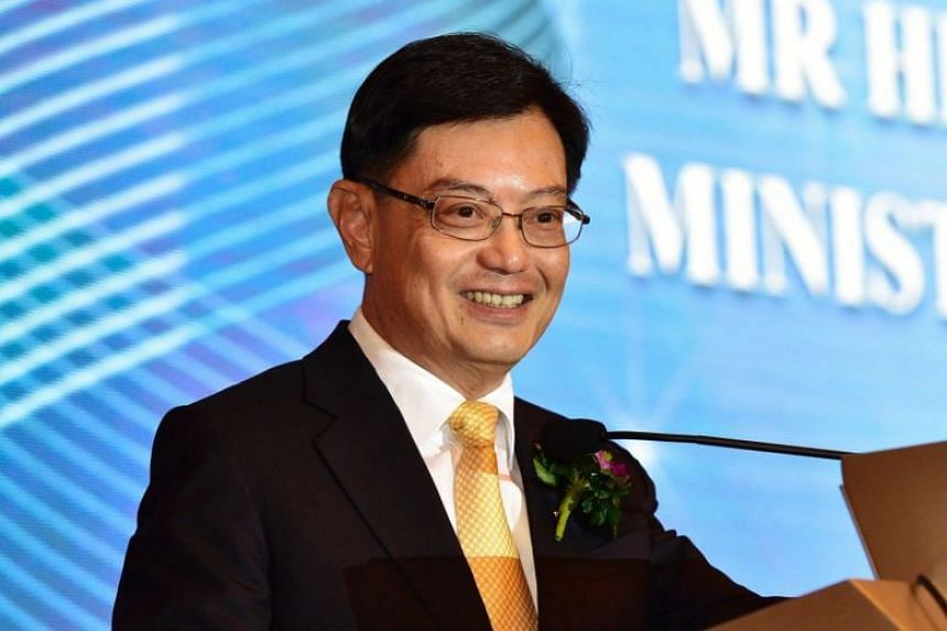 """""""The growth of Asia will result in rapid urbanisation and more demand for infrastructure and buildings,"""" said Finance Minister Heng Swee Keat."""