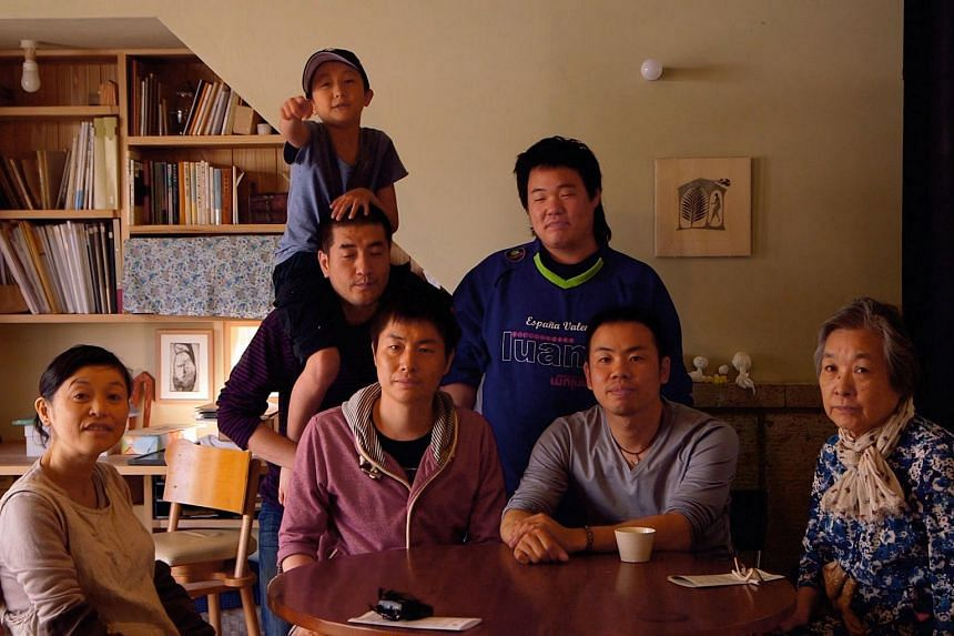 Movie still from Japanese documentary Of Love And Law.