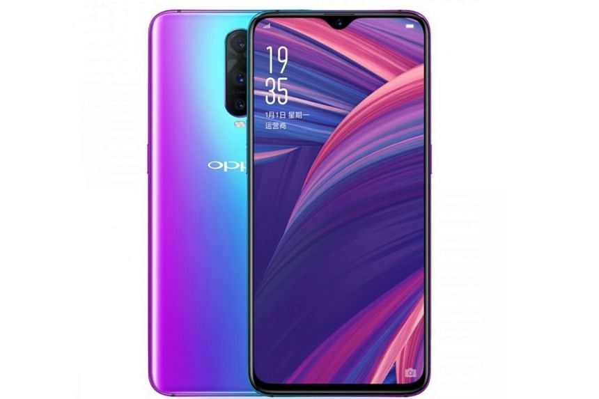 The Oppo R17 Pro has a number of forward-looking features, such as a triple-camera system and an in-display fingerprint scanner.