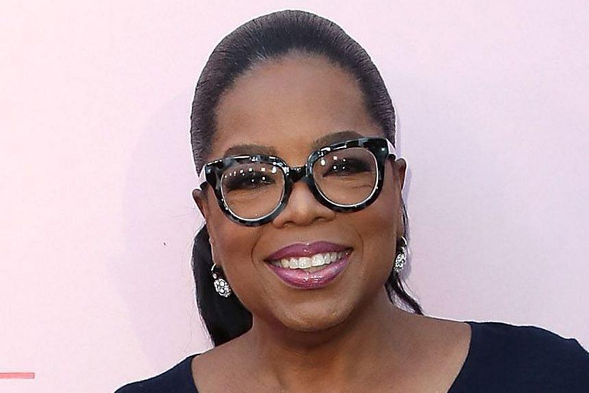 Talk-Show Host Oprah Winfrey.