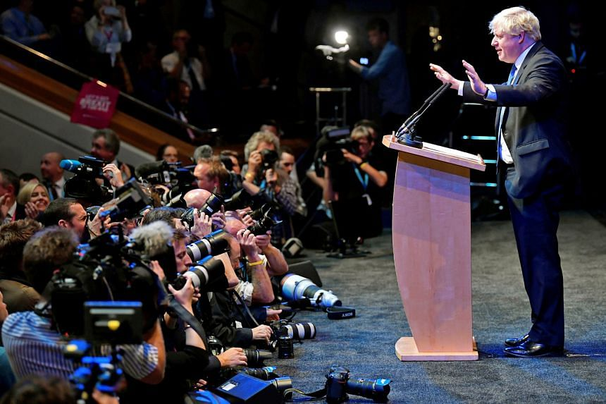 """Former British foreign minister Boris Johnson told delegates at the Conservative Party conference in Birmingham yesterday that """"this is the moment to chuck Chequers"""", Prime Minister Theresa May's Brexit proposals. Her precarious position as party lea"""