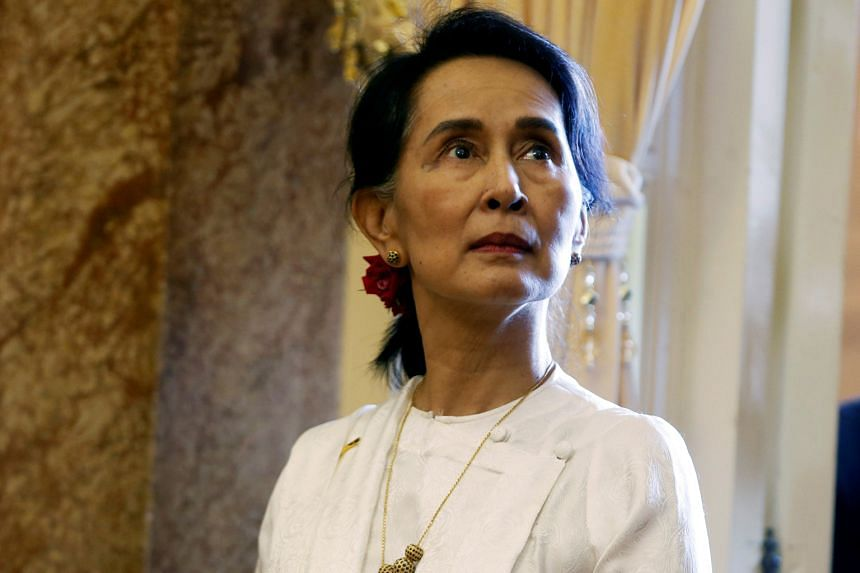 "Ms Aung San Suu Kyi, who won the Nobel Peace Prize in 1991 for campaigning for democracy, has been accused by the United Nations of failing to use her ""moral authority"" to protect civilians in Myanmar."
