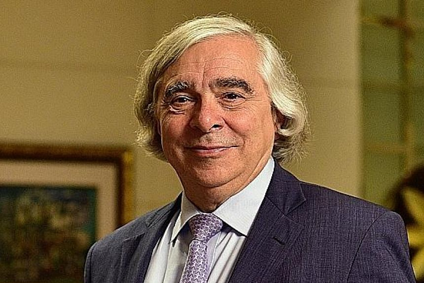 Dr Ernest Moniz is in Singapore this week to discuss nuclear issues with officials.