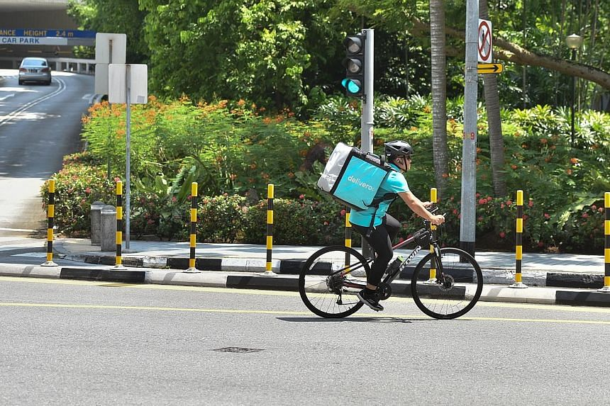 Deliveroo Plus, which was launched here this week, allows free delivery for customers who pay a $10.90 monthly subscription fee.
