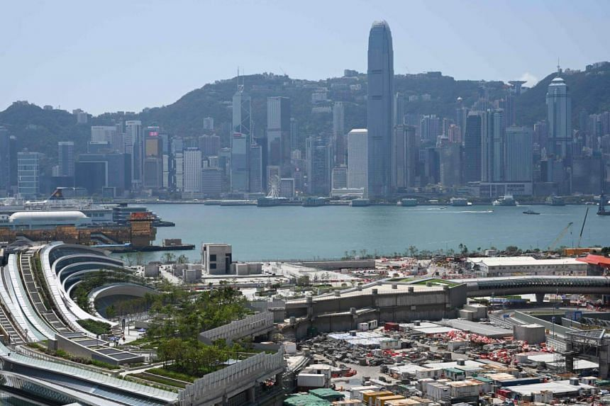 A general view of the skyline of Hong Kong, on Sept 21, 2018.