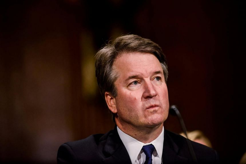 Judge Brett Kavanaugh testifies in front of the Senate Judiciary committee in Washington DC, on Sept 27, 2018.