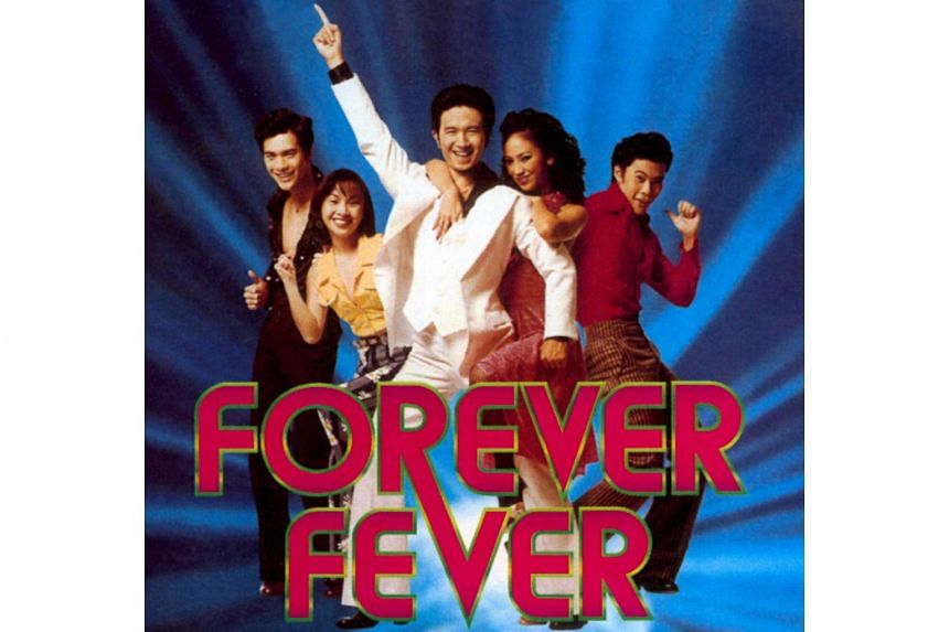 Forever Fever, the musical comedy film by Glen Goei, stars Adrian Pang as a supermarket employee who enters a disco contest after getting inspired by the movie Saturday Night Fever (1977).