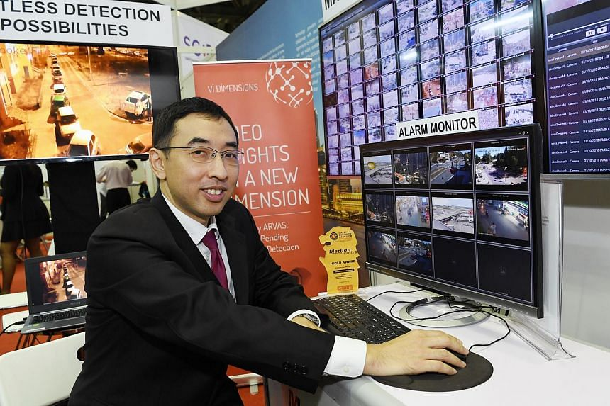 Chief executive of Vi Dimensions Raymond Looi said he hopes the system can at least halve the number of security staff needed at malls so they can be redeployed to other tasks and be alerted when there are unusual events.