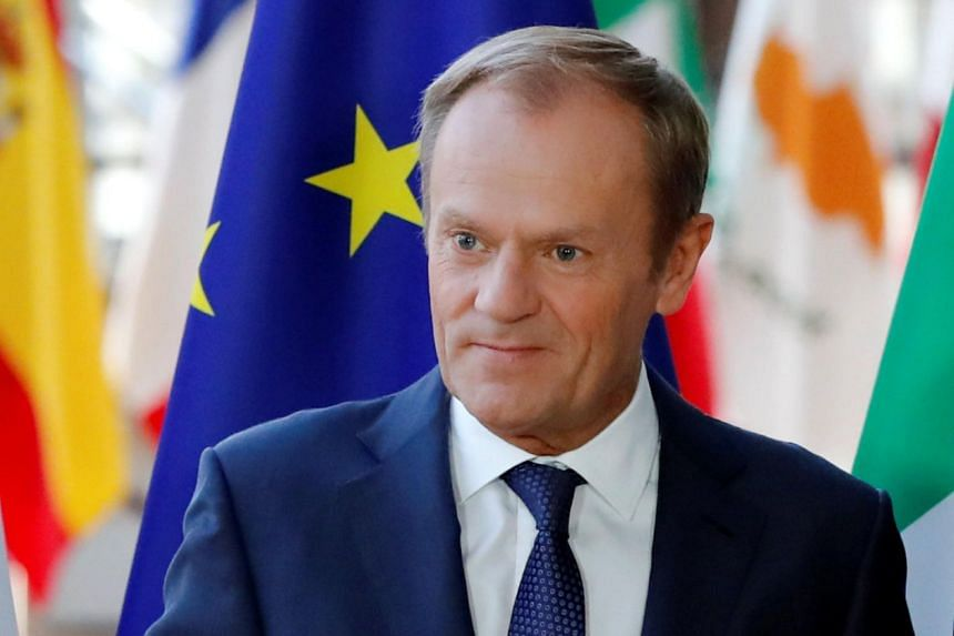European Council President Donald Tusk urged London to accept an offer of very close post-Brexit ties.